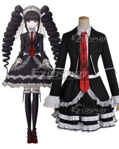 Danganronpa Dangan Ronpa Celestia Ludenberg Dress Cosplay Costume