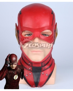 DC 2017 Movie Justice League The Flash Barry Allen Mask Cosplay Accessory Prop