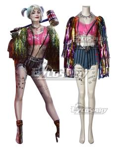 DC Birds of Prey Harley Quinn Cosplay Costume B Edition
