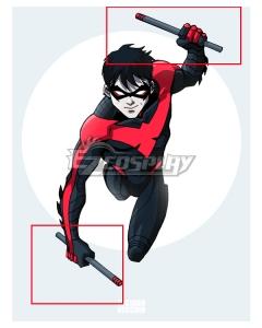 DC Comics Teen Titans Nightwing Richard John Grayson Stick Cosplay Weapon Prop