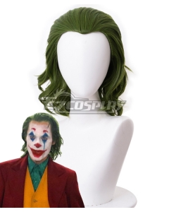 DC Joker 2019 Joker Arthur Fleck Batman Green Cosplay Wig - 405J