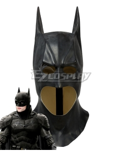 DC The Batman 2021  Bruce Wayne Robert Pattinson Mask Cosplay Accessory Prop