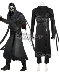 """Dead by Daylight Danny """"Jed Olsen"""" Johnson The Gost Face Halloween Cosplay Costume"""