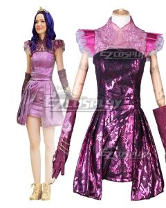 Disney Descendants 3 Mal Evening Dress Cosplay Costume