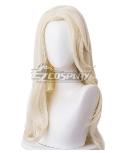 Disney Frozen 2 Elsa Snow Queen Light Golden Cosplay Wig - 336G