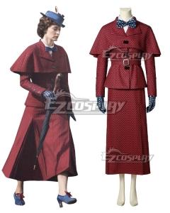 Disney Mary Poppins Cosplay Costume
