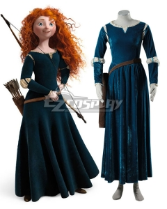 Disney Brave Merida Cosplay Costume