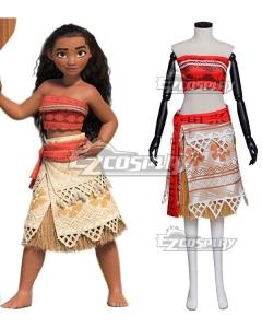Disney Animation Moana Cosplay Costume