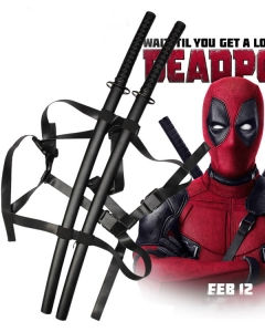 Marvel Deadpool Wade Wilson Cosplay Weapon Prop