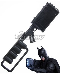 DC The Dark Knight Rises Batman Bruce Wayne EMP Gun Cosplay Weapon Prop