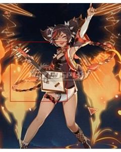 Genshin Impact Xinyan Lute Cosplay Weapon Prop