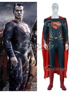 DC Comics Batman v Superman: Dawn of Justice Superman Clark Kent Cosplay Costume - Including Boots