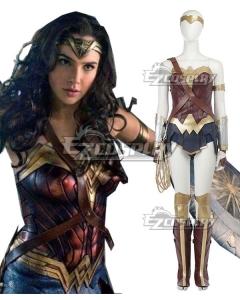 DC Wonder Woman 2017 Movie Diana Prince Cosplay Costume - New Edition
