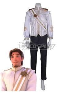 Disney Tangled Flynn Rider Wedding dress Cosplay Costume