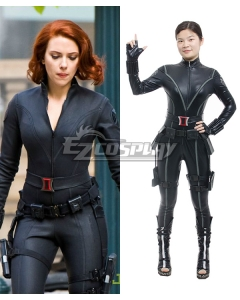 Marvel New Captain America 2 Avengers Black Widow Natasha Romanoff Cosplay Costume