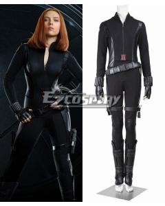 Marvel Captain America 2 The Winter Soldier Black Widow Natasha Romanoff Cosplay Costume