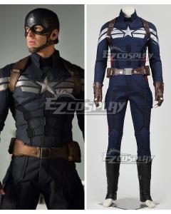Marvel Captain America The Winter Soldier Steven Steve Rogers Cosplay Costume
