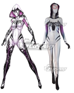 Marvel Spiderwoman Spider Gwen Zentai Gwen Stacy Zentai Jumpsuit Cosplay Costume