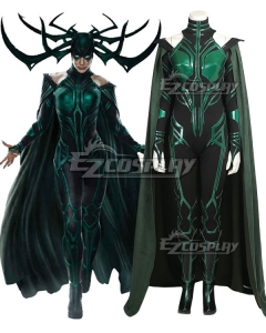 Marvel Thor 3 Ragnarok Trailer Hela Cosplay Costume - No Boots and New Edition