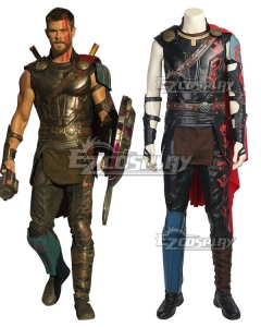 Marvel Thor: Ragnarok Thor Cosplay Costume - Not Boots and New Edition