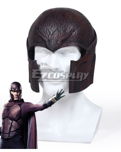 Marvel X-Men: Days Of Future Past Erik Lehnsherr Magneto Helmet Cosplay Accessory Prop