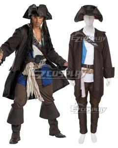 Pirates of the Caribbean 3 Captain Jack Sparrow Prestige Adult Costume