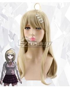 Danganronpa V3: Killing Harmony Akamatsu Kaede Yellow Cosplay Wig