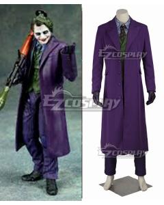 DC Batman The Dark Knight The Joker Full Suit Halloween  Cosplay Costume
