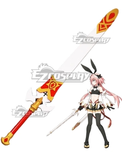 Fate Grand Order Fate Apocrypha Saber Astolfo Sword Scabbard Cosplay Weapon Prop