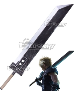 Final Fantasy VII FF7 Remake Cloud Strife Sword Cosplay Weapon Prop