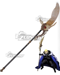 Fire Emblem: Three Houses 5 Years Dimitri Alexandre Timeskip Bladud Spear Cosplay Weapon Prop
