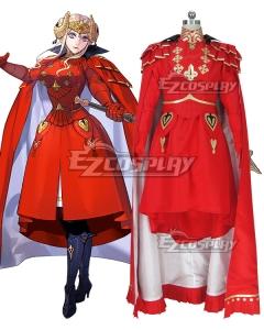 Fire Emblem: Three Houses Edelgard Von Hresvelg Time Skip Cosplay Costume