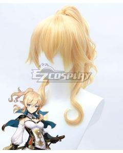 Genshin Impact Jean Golden Cosplay Wig