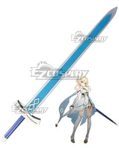 Genshin Impact Player Female Traveler Sword Cosplay Weapon Prop