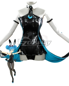 Vocaloid Hatsune Miku Black Bunny Girl Black Rabbit Cosplay Costume - Not included Wig