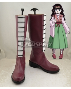 Hunter X Hunter Alluka Zoldyck Red Shoes Cosplay Boots