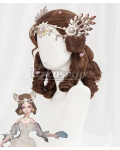 Identity V Bloody Queen Mary Lady Bella Halloween Brown Cosplay Wig