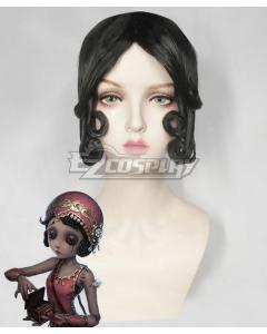 Identity V Female Dancer Margaretha Zelle Halloween Black Cosplay Wig