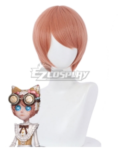 Identity V Mechanic Tracy Reznik Candy Girl Halloween Orange Cosplay Wig