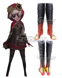 Identity V Mechanic Tracy Reznik Little Red Riding Hood Halloween Red Shoes Cosplay Boots