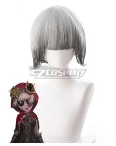 Identity V Mechanic Tracy Reznik Little Red Riding Hood Halloween Grey White Cosplay Wig