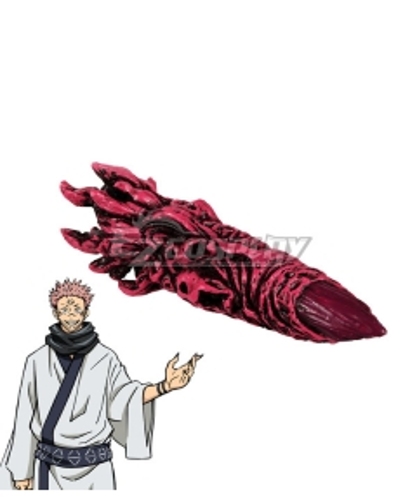 Jujutsu Kaisen Sorcery Fight Sukuna Ryomen Finger Cosplay Accessory Prop