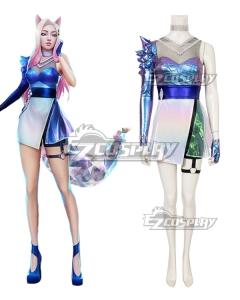 League Of Legends LOL 2020 K/DA KDA Ahri All Out Cosplay Costume