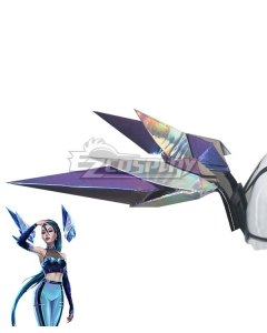 League Of Legends LOL 2020 KDA K/DA Kai'Sa Kaisa Wing Cosplay Weapon Prop