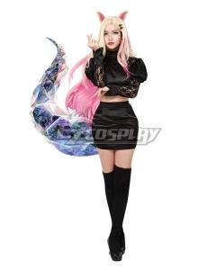 League Of Legends LOL 2020 KDA K/DA THE BADDEST Ahri Cosplay Costume