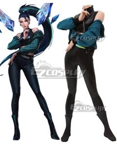 League Of Legends LOL 2020 KDA K/DA THE BADDEST Kai'Sa Kaisa Cosplay Costume