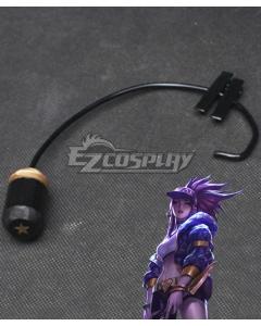 League Of Legends LOL KDA K/DA Akali Headset Cosplay Accessory Prop