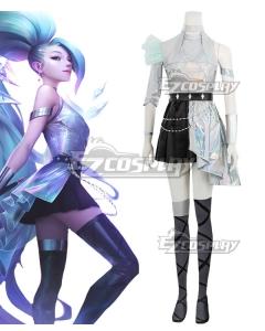 League Of Legends LOL KDA K/DA ALL OUT Seraphine Superstar Cosplay Costume