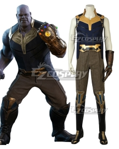 Marvel 2018 Avengers 3: Infinity War Thanos Cosplay Costume - A Edition