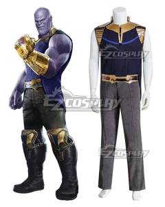 Marvel 2018 Avengers 3: Infinity War Thanos Halloween Cosplay Costume